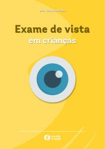 Capa do ebook exame de vista em crianças