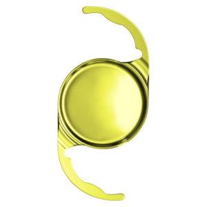 Figura representativa de uma lente intraocular